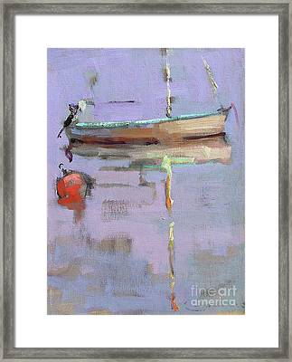 Waiting For You Framed Print by Jerry Fresia