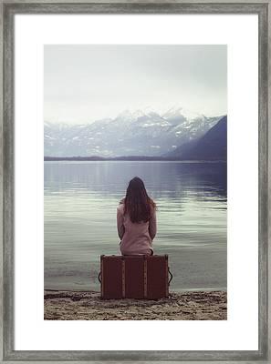 Waiting For You Framed Print by Joana Kruse