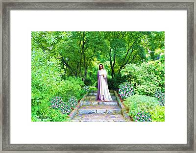 Waiting For You Framed Print by Susanna  Katherine