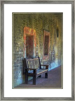 Waiting Framed Print by Joan Carroll