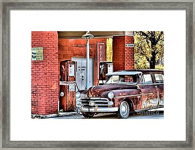Waiting.... Framed Print by Joe Russell