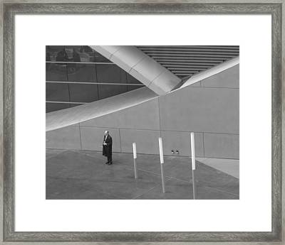 Waiting Framed Print by Rose  Fleming