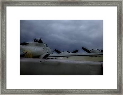 Waiting To Be Called Again Framed Print by M K  Miller