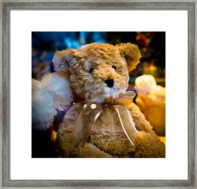 Waiting To Come Home Framed Print by Ronda Broatch