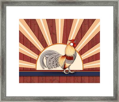 Wakeup Call Framed Print by Katherine Plumer