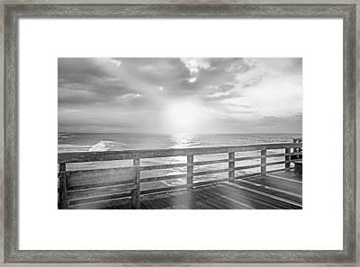 Waking Coast Framed Print by Betsy C Knapp