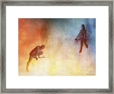 Waking Hells Framed Print by Pedro L Gili