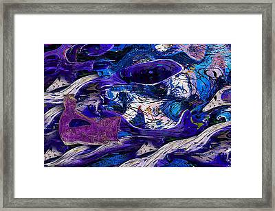 Waking In A Dream Framed Print by Jack Zulli