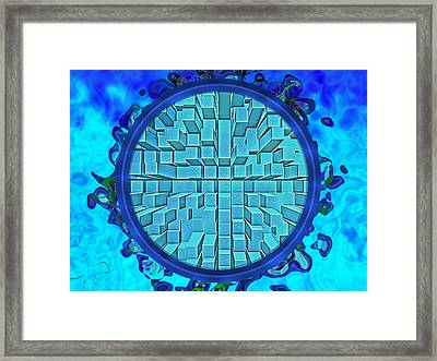 Waking To Mystery Framed Print by Wendy J St Christopher