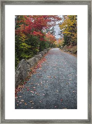 Walk Along Framed Print by Jon Glaser