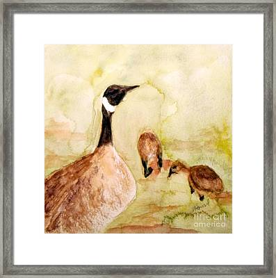 Walk In The Park Framed Print by Vicki  Housel