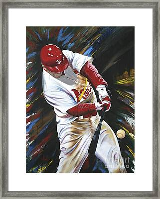 Walk Off Framed Print by Terry  Hester
