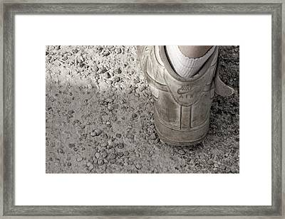 Walk This Way Framed Print by Kitty Ellis