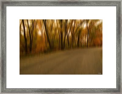 Walk To Change Framed Print by Lourry Legarde