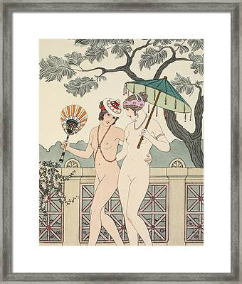 Walking Around Naked As Much As We Can Framed Print by Joseph Kuhn-Regnier