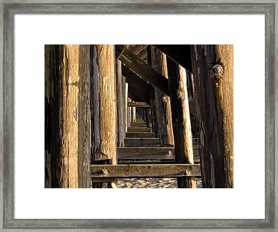 Walking Bridge II Framed Print by Bill Gallagher