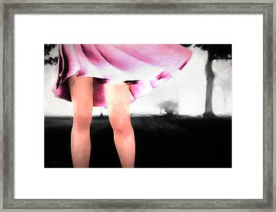 Walking In The Park Framed Print by Bob Orsillo