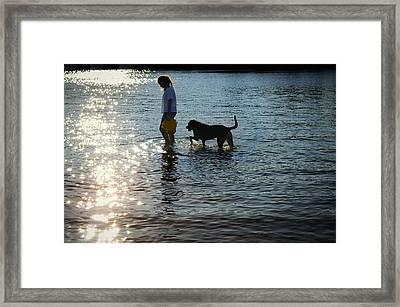 Walking On Sunshine Framed Print by Laura Fasulo