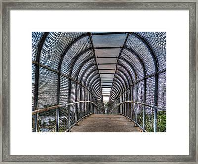 Walkover Framed Print by MJ Olsen