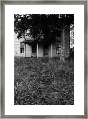 Walkway II Framed Print by Off The Beaten Path Photography - Andrew Alexander
