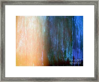 Wall Abstract Framed Print by Ed Weidman