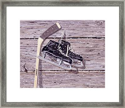 Wall Of Fame Framed Print by Richard De Wolfe
