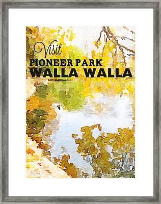 Walla Walla Framed Print by Linda Woods