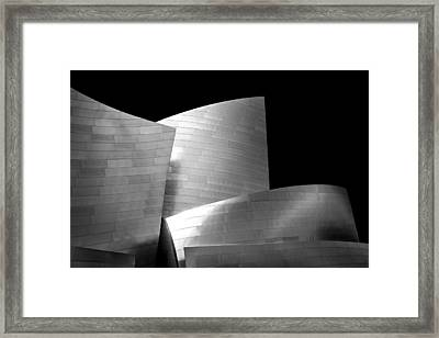 Walt Disney Concert Hall 1 Framed Print by Az Jackson