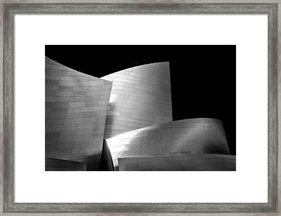 Walt Disney Concert Hall 1 Framed Print by Az Jackson