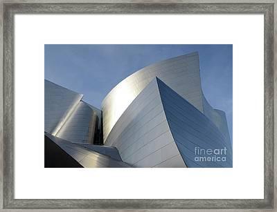 Walt Disney Concert Hall 14 Framed Print by Bob Christopher