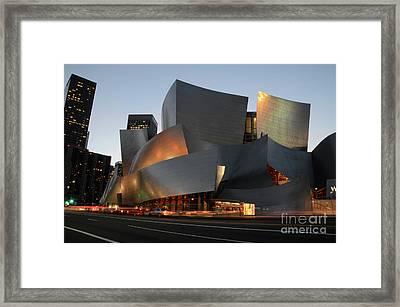 Walt Disney Concert Hall 21 Framed Print by Bob Christopher