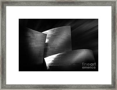 Walt Disney Concert Hall 3 Framed Print by Az Jackson