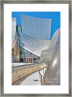 Walt Disney Concert Hall Los Angeles Ca 2 Framed Print by David Zanzinger