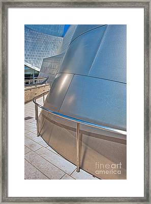 Walt Disney Concert Hall Music Hall Downtown Los Angeles Ca 3 Framed Print by David Zanzinger