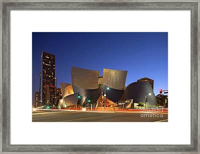 Walt Disney Concert Hall Framed Print by Shishir Sathe