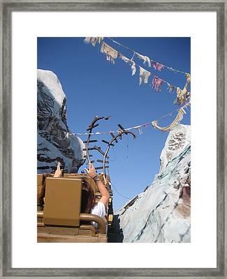 Walt Disney World Resort - Animal Kingdom - 121214 Framed Print by DC Photographer