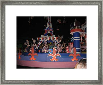 Walt Disney World Resort - Magic Kingdom - 1212104 Framed Print by DC Photographer