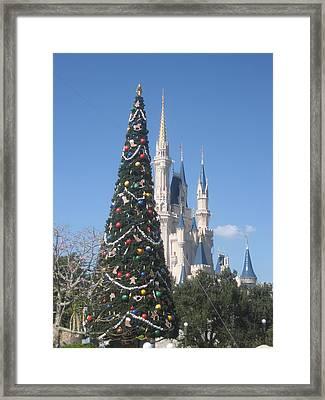 Walt Disney World Resort - Magic Kingdom - 1212133 Framed Print by DC Photographer
