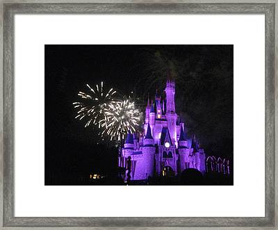 Walt Disney World Resort - Magic Kingdom - 121235 Framed Print by DC Photographer