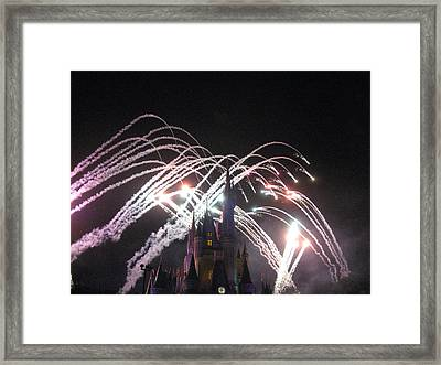 Walt Disney World Resort - Magic Kingdom - 121262 Framed Print by DC Photographer