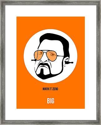 Walter Sobchak Poster 3 Framed Print by Naxart Studio