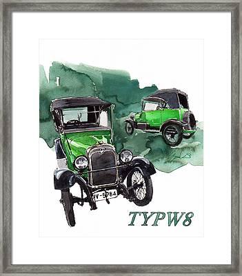 Wanderer Typ W8 Framed Print by Yoshiharu Miyakawa
