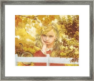 Wanderer Framed Print by Mo T
