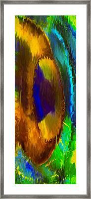 Wandering Eye Framed Print by Omaste Witkowski