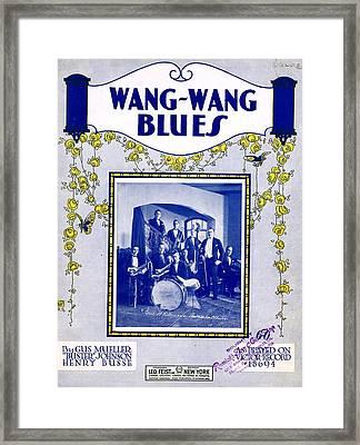 Wang Wang Blues Framed Print by Mel Thompson