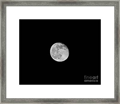 Waning Flower Moon Framed Print by Al Powell Photography USA