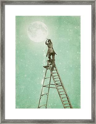 Waning Moon Framed Print by Eric Fan