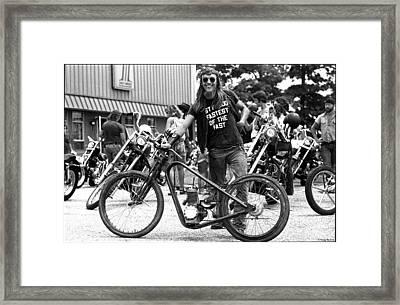 Swap Meet Framed Print by Doug Barber