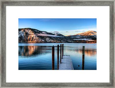 Wapato Point Framed Print by Spencer McDonald