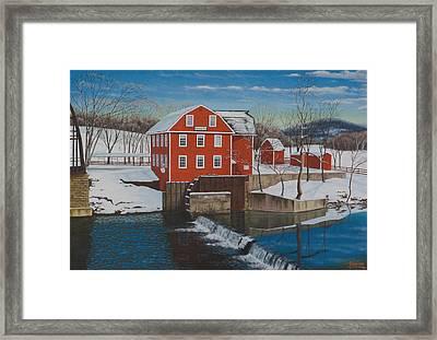War Eagle Mill Framed Print by Tim Birlson